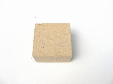 1.25kg/普通レンガ半マス ライトクローブCサイズ100×100×60mm[煉瓦 れんが ブロック 花壇 タイル]