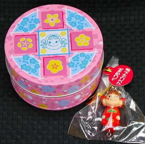 ぺコちゃん和風キャンディ缶【ワケあり品】