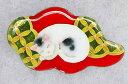 猫の七宝ブローチ平林利依子 作