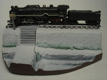 新タイムスリップグリコ 第3弾蒸気機関車C62-2号(スワローエンゼル)雪【開封済】