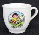 ペコちゃんマグカップ型プリンカップ春風にファインプレー【未使用】
