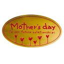 あきんどざむらいで買える「母の日シールハートフラワー」の画像です。価格は27円になります。