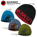 MAMMUTマムートニット帽MammutLogoBeanie1090-04890