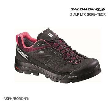 【あす楽】SALOMON〔サロモン レディーススポーツシューズ トレイルランニング ハイキング〕X ALP LTR GTX W L379270 〔 ASPH/BORD/PK 〕【GORE-TEX】〔SA〕