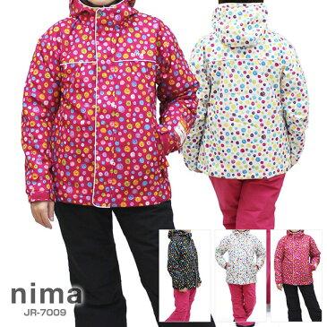 nima〔ニーマ スキーウェア ジュニア〕<2018>JR-7009【上下セット ジュニア】【サイズ調節可能】【SWER】【SJR】