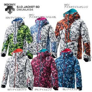 【限定価格タイムセール!12/11 12時まで】DESCENTE〔デサント スキーウェア メンズ ジャケット〕<2019>S.I.O JACKET 60/DWUMJK54【技術選着用モデル】 送料無料 〔SA〕 【HADS】
