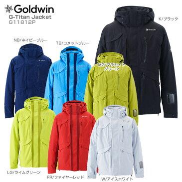 【WエントリーでP10倍★特大チャンス!1/1 1:59まで】【18-19 NEWモデル】GOLDWIN〔ゴールドウィン スキーウェア ジャケット〕<2019>G-Titan Jacket G11812P【送料無料】【MUJI】
