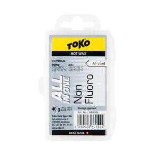 TOKO 〔トコ〕 NFオールインワンワックス 40g スキー スノーボード 固形