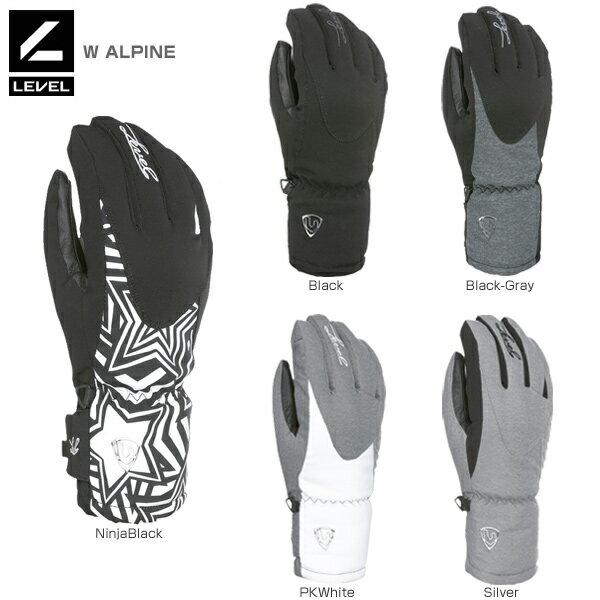 スキー・スノーボード用アクセサリー, グローブ LEVEL 2019W ALPINE