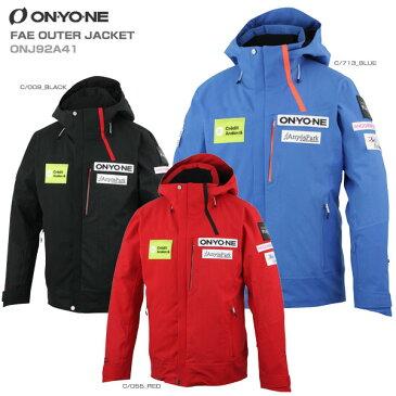 ON・YO・NE オンヨネ スキーウェア ジャケット 2020 FAE OUTER JACKET フェイアウタージャケット ONJ92A41 送料無料 19-20 【X】