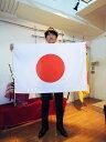 日本製 日の丸(日本国旗) 70×105cm テトロントロピカル生地(ポリエステル) 国旗 応援 スポーツ観戦