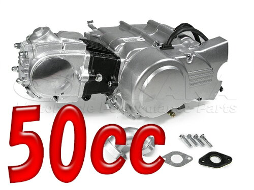 50ccエンジン 12V 4速≪田中商会★モンキー田中≫