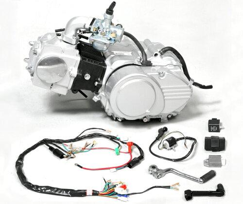 90ccエンジン 12Vオールキット 4速≪田中商会★モンキー田中≫
