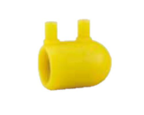 積水化学工業 ガス用ポリエチレン管 受 キャップ 1方EF : EFC 75 75 (BEC75 )∴ ガス 管 融着 接合 継手 ガスポリ PE 配管 埋設 接手
