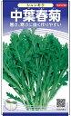 シュンギク 種 『中葉春菊』 サカタのタネ/大袋(採苗本数7000本)