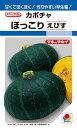 カボチャ 種 『ほっこりえびす』 10粒(RF) タキイ種苗