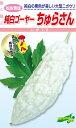 種苗・園芸ショップ 種もりで買える「松永種苗 ニガウリ 純白ゴーヤ? ちゅらさん 小袋」の画像です。価格は432円になります。