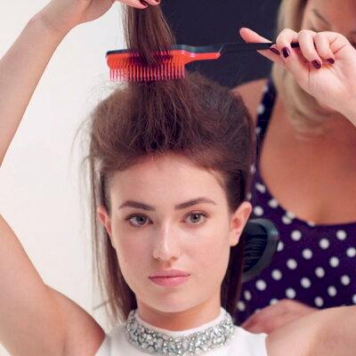 【公式】タングルティーザー正規品TANGLETEEZERバックコーミング#01Pコームボリュームアップヘアブラシくしまとめ髪