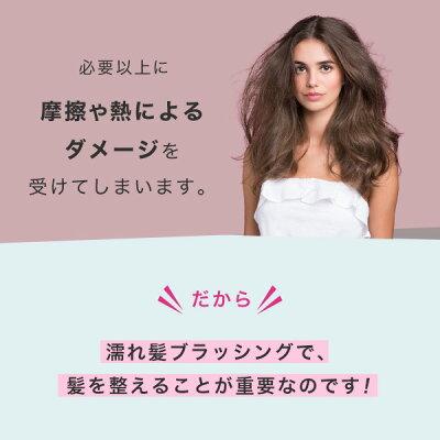 【公式】タングルティーザー正規品ヘアブラシTANGLETEEZERザ・ウェットディタングラー濡れ髪専用ヘアブラシヘアケア柄付きくし