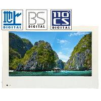 地上/BS/110度CSデジタル対応壁掛け・車載用フルハイビジョン13インチLED液晶テレビ[外付けHDD録画対応、HDMI2系統]DTV131JW-C