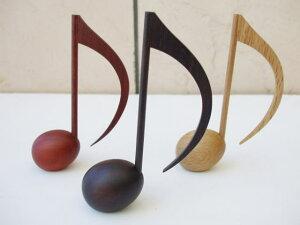 八分音符型 木製文具♪ペーパーウェイト【ローズ】10P02jul10