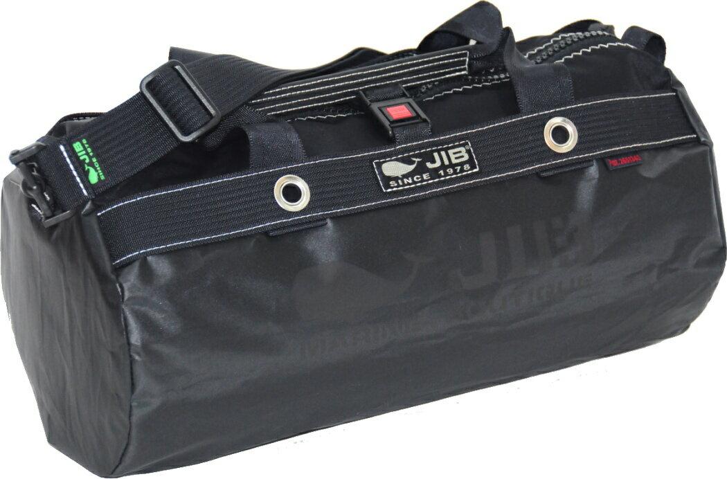 bb495158211a JIB ダッフルバッグS DS130 ブラック 親子で使えるタウンユースサイズのバッグ42×φ22cm 約15L 6743787