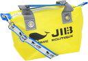 JIB セット販売 FTSS53 ファスナートートSSイエロー×グレー + 25mm幅ロゴショルダーベルト