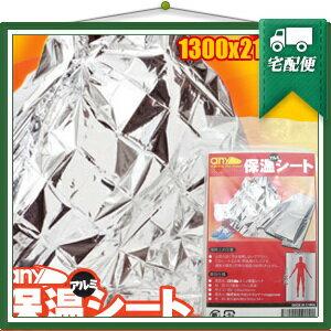 「非常用ブランケット」エニィ(any)保温アルミシート(1300x2100mm)
