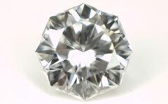 【 通称:クリスタル・ムーン・カット 】 天然ダイヤモンド ルース(裸石) 0.223ct, Fカラー, VS...