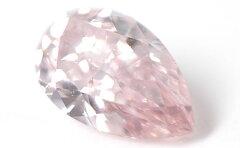 【淡いベリー系のピンクダイヤ】ピンクダイヤモンド ルース 0.118ct, Fancy Pink(ファンシー・...