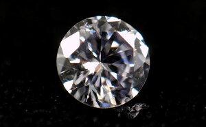 天然バイオレット?ブルー?ダイヤモンド ルース(裸石) 0.061ct 【 AGTジェムラボラトリー & 中央...
