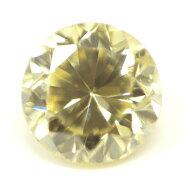 天然イエローダイヤモンドルース(裸石)0.044ct,ファンシー・ライト・イエロー,SI-1【中央宝石研究所ソーティング袋付き】