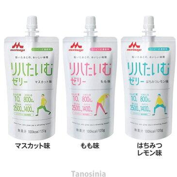 リハたいむゼリー 3種×3個 計9袋 水分補給 介護食 栄養補給 マスカット・もも・はちみつレモン