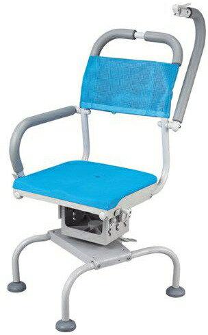 【介護用品】 風呂椅子 くるくるベンチD 穴無しシート KRU-316 座面回転:タノシニア