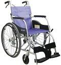 自走用車いす ふわりす KF22-40SB 車椅子 介護用品 hkz