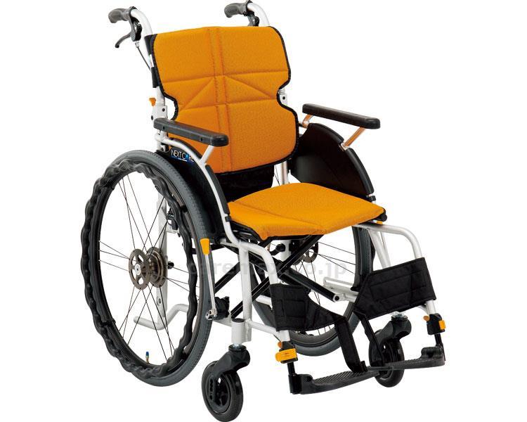 ネクストコア グラン 自走用車いす NEXT-12B 座幅42cm 車椅子 介護用品 hkz 福祉用具 通販:タノシニア
