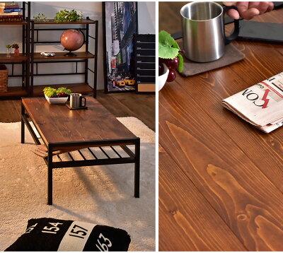 テーブル棚付き幅90