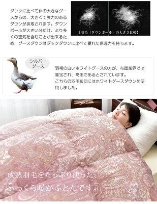 羽毛布団グース