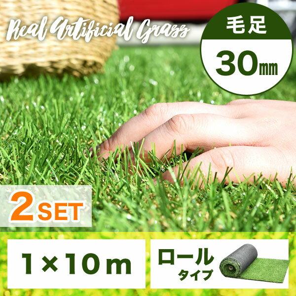 30mm人工芝1-10m 2個セット