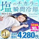 ★優勝記念!超目玉★【送料無料】 塩の力で瞬間冷却 90×1...
