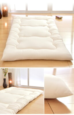 日本製固綿入り三層敷布団