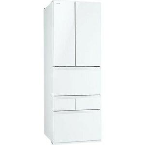 【カード決済OK】東芝 冷蔵庫フレンチ(450〜) GR-H460FV-ZW【納期目安:3週間】