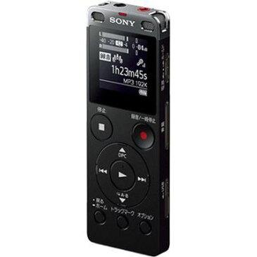 ソニー 8GBメモリー内蔵USBダイレクト接続ステレオICレコーダー (ブラック) (ICDUX565FB) ICD-UX565F-B【納期目安:3週間】