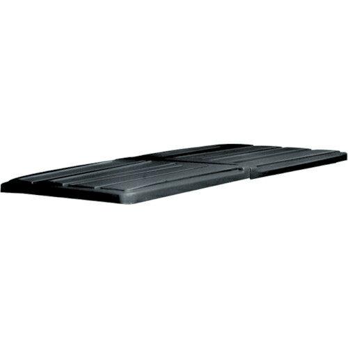 ニューウェル・ラバーメイド社 ラバーメイド ティルトトラック用フタ ブラック 102707:家電のタンタンショップ プラス