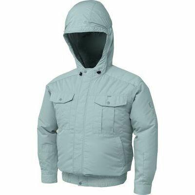 空調服 フード付チタン肩当有NSP空調服(ウェア・ファン2個・ケーブル・バッテリ...