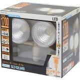 EARTH MAN LEDセンサーライト ダブル12W×2 SLT-12LWB TKG-1403126
