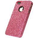 その他 【訳あり・在庫処分】icover iPhone4用ケース KOREAN CRYSTAL AS-IP4K8-P ピンク (フルセット) ds-394501