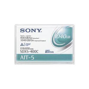その他 ソニー AIT-5 データカートリッジ 400GB(圧縮時 1040GB) SDX5-…