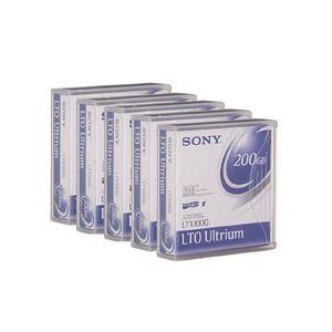 その他 (まとめ)SONY(ソニー) LTX100GR LTO Ultrium1 データカート…