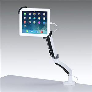 その他 サンワサプライ 7〜11インチ対応水平垂直iPad・タブレット用アーム CR-LATAB6 ds-1252598